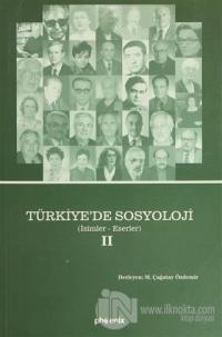 Türkiye'de Sosyoloji (2 Cilt Takım) (Ciltli)
