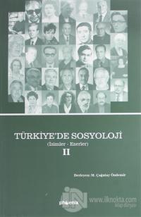 Türkiye'de Sosyoloji Cilt 2 (Ciltsiz) M. Çağatay Özdemir