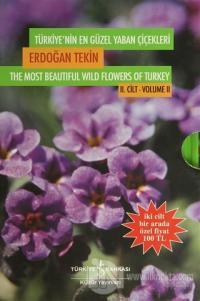 Türkiye'nin En Güzel Yaban Çiçekleri (2 Cilt Takım) (Ciltli)