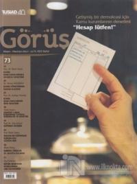 Tüsiad Görüş Dergisi Sayı: 73