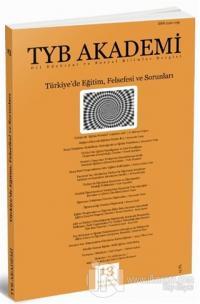 TYB Akademi Dergisi Sayı: 13 Ocak 2015