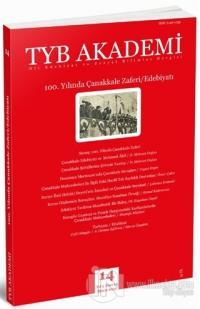 TYB Akademi Dergisi Sayı: 14 Mayıs 2015
