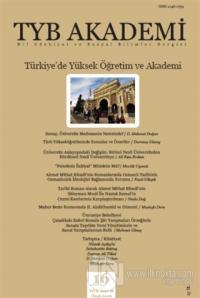 TYB Akademi Dergisi Sayı: 16 Ocak 2016