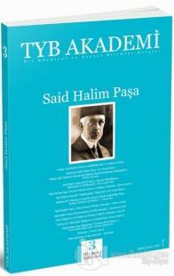 TYB Akademi Dergisi Sayı: 3 Eylül 2011