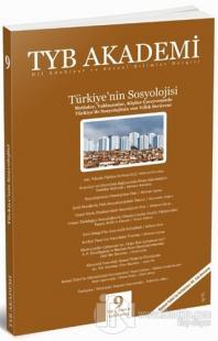 TYB Akademi Dergisi Sayı: 9 Eylül 2013