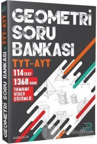 TYT - AYT Geometri Tamamı Çözümlü Soru Bankası
