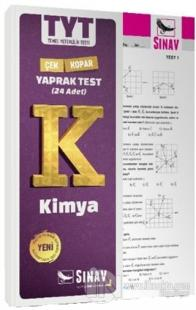 TYT Kimya Yaprak Test Kolektif