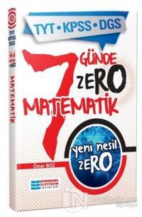 TYT KPSS DGS Yeni Nesil Zero Matematik Kolektif