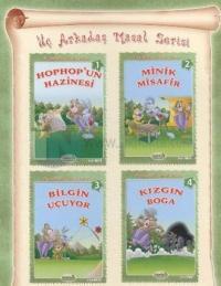 Üç Arkadaş Masal Serisi Küçük Boy - 4 Kitap Takım