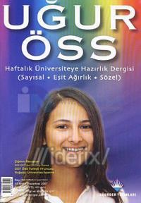 Uğur ÖSS Haftalık Üniversiteye Hazırlık Dergisi Sayı: 13