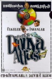 Ülkeler ve İnsanlar Müzikli Dünya Atlası Multimedya Ansiklopedi CD-Kitaplarla Devr-i Alem (10 Kitap + 8 CD + 1 CD-ROM + 1 Video-CD) (Ciltli)