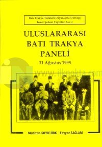Uluslararası Batı Trakya Paneli 31 Ağustos 1995