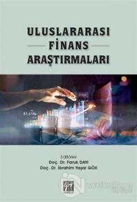 Uluslararası Finans Araştırmaları Faruk Dayı