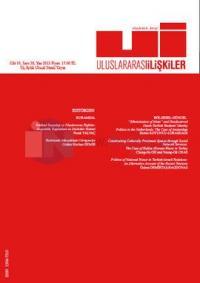 Uluslararası İlişkiler Dergisi Cilt: 10 Sayı: 38
