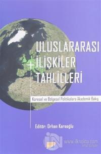 Uluslararası İlişkiler Tahlilleri