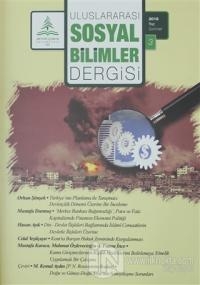 Uluslararası Sosyal Bilimler Dergisi Sayı: 3