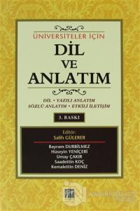 Üniversiteler İçin Dil ve Anlatım