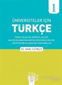 Üniversiteler İçin Türkçe - 1