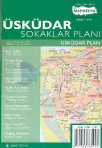 Üsküdar Sokaklar Planı %10 indirimli Harita