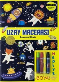 Uzay Macerası Boyama Kitabı - Minik Ressamlar Kolektif