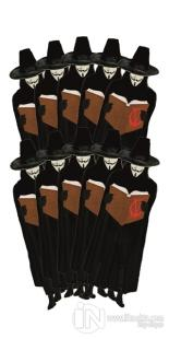 V For Vendetta - 10'lu Lazer Kesim Ayraç