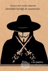 V For Vendetta - Kraft Defter