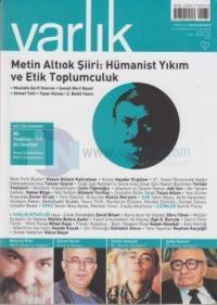 Varlık Aylık Edebiyat ve Kültür Dergisi Sayı: 1260
