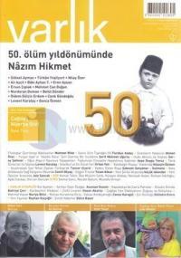 Varlık Aylık Edebiyat ve Kültür Dergisi Sayı: 1269
