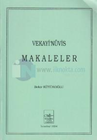 Vekayi'nüvis Makaleler
