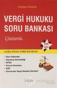 Vergi Hukuku Soru Bankası Çözümlü