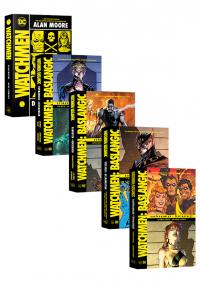 Watchmen 5 Kitap Takım Brian Azzarello