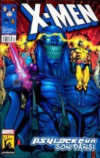 X-Men Sayı: 17 Psylocke'un Son Dansı