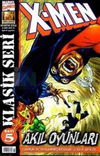 X-Men / Sayı: 5 Klasik Seri Akıl Oyunları Sayı: 5