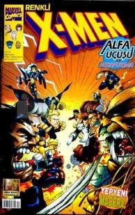 X-Men Sayı: 12 Alfa Uçuşu ile Hesaplaşma