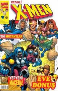 X-MenYeni Mutantlar Eve DönüşSayı: 8