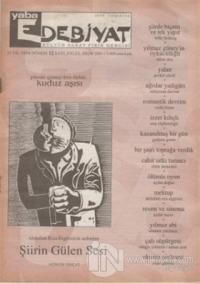 Yaba Edebiyat Dergisi Sayı: 12