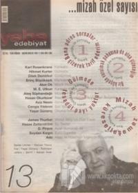 Yaba Edebiyat Dergisi Sayı: 13
