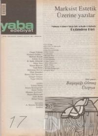 Yaba Edebiyat Dergisi Sayı: 17