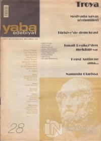 Yaba Edebiyat Dergisi Sayı: 28
