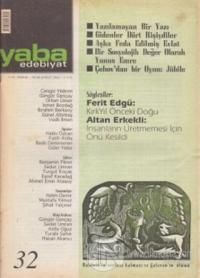 Yaba Edebiyat Dergisi Sayı: 32