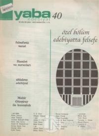 Yaba Edebiyat Dergisi Sayı: 40