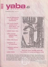 Yaba Edebiyat Dergisi Sayı: 49