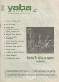 Yaba Edebiyat Dergisi Sayı: 62