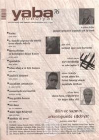 Yaba Edebiyat Dergisi Sayı: 76