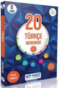 Yanıt 8. Sınıf Çözümlü 20 Türkçe Branş Denemesi