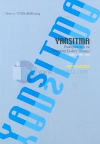 Yansıtma  Sayı: 1-2  Nevrozlar Psikopatoloji ve Projektif Testler Dergisi