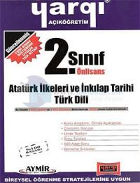 Yargı AÖF 2. Sınıf Önlisans - Atatürk İlkeleri ve İnkılap Tarihi - Türk Dili