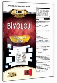 Yargı KPSS ÖABT Biyoloji Yaprak Test 2014