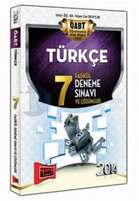 Yargı ÖABT Türkçe 7 Fasikül Deneme Sınavı ve Çözümleri 2014