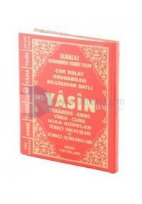 Yasin Tebareke Amme Türkçe Okunuş ve Meali (Cep Boy, Kod: 141)